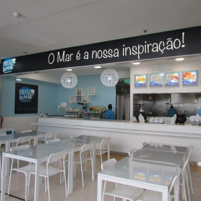 Novo restaurante Prego do Mar