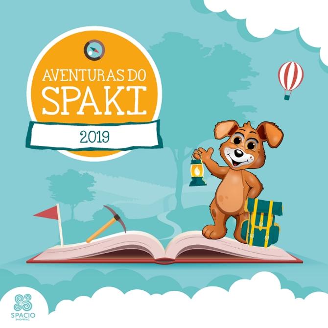 Spaki: aventuras a jogar!