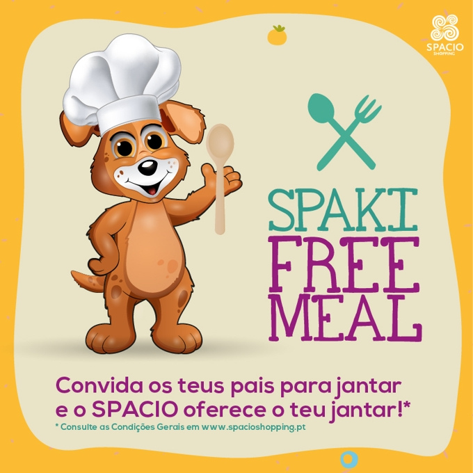 Free Meal nos restaurantes do Spacio