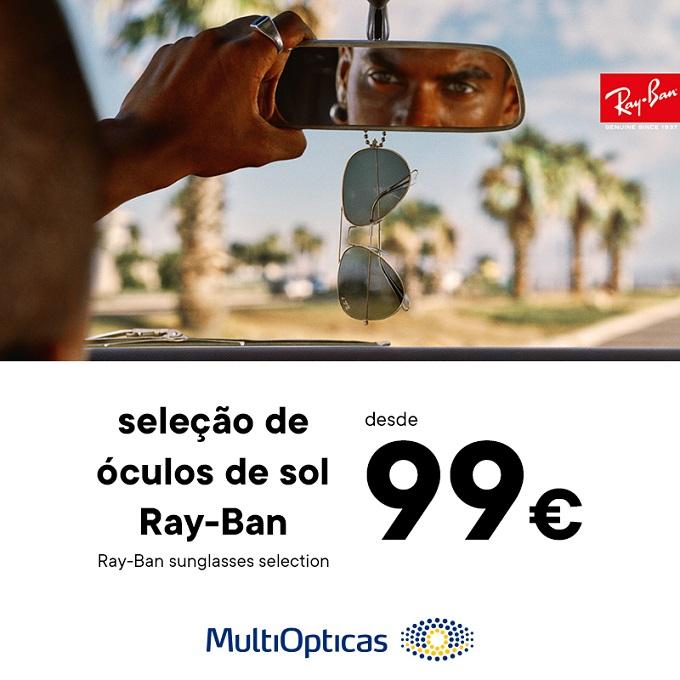 Óculos Ray-Ban desde 99€