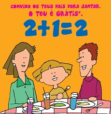 Free Meal 4 Kids nos restaurantes do Spacio Shopping